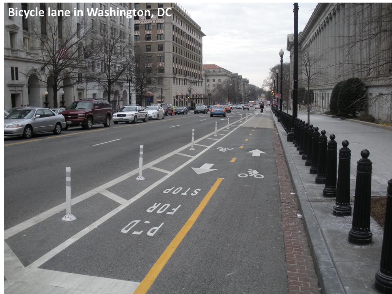 September  Bikeable Richmond - Washington dc bike lane map